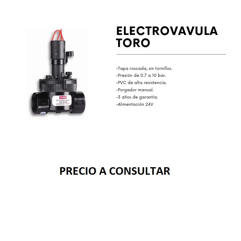 ELECTROVALVULA TORO