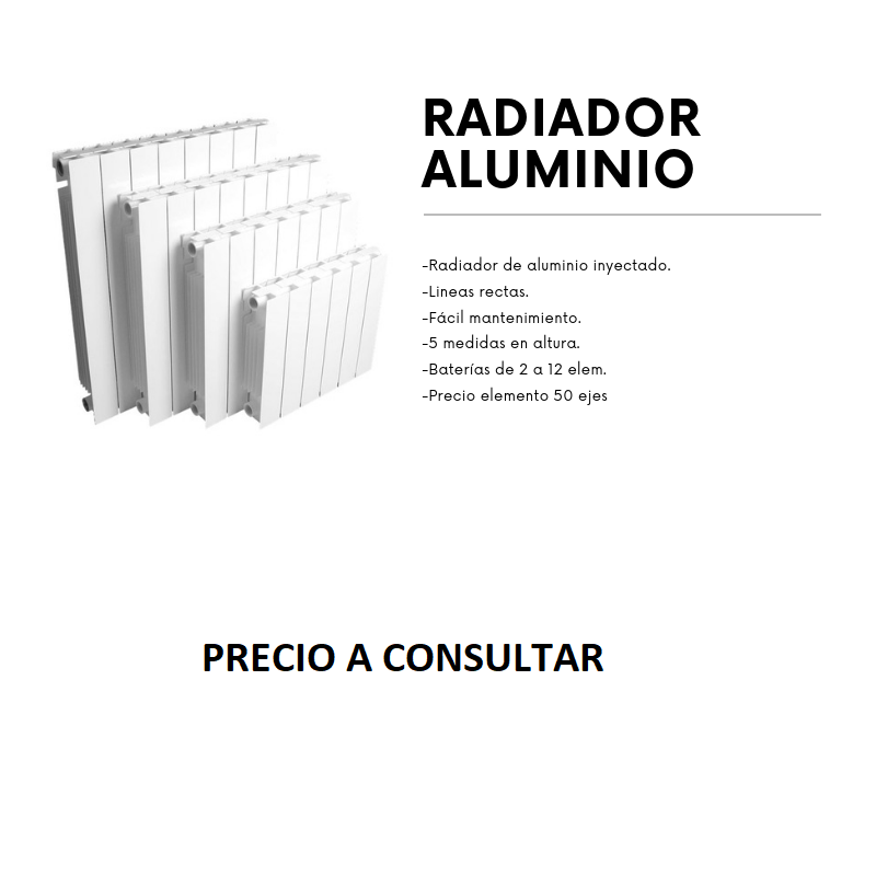 MAGNO-600 RADIADOR ALUMINIO