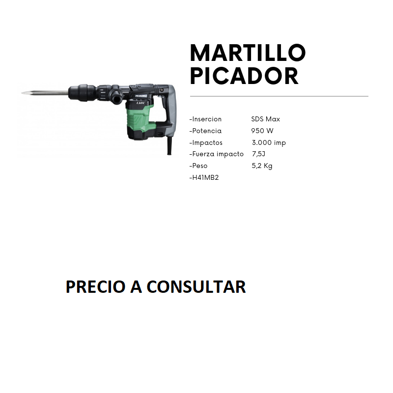 MARTILLO H41MB2 PICADOR