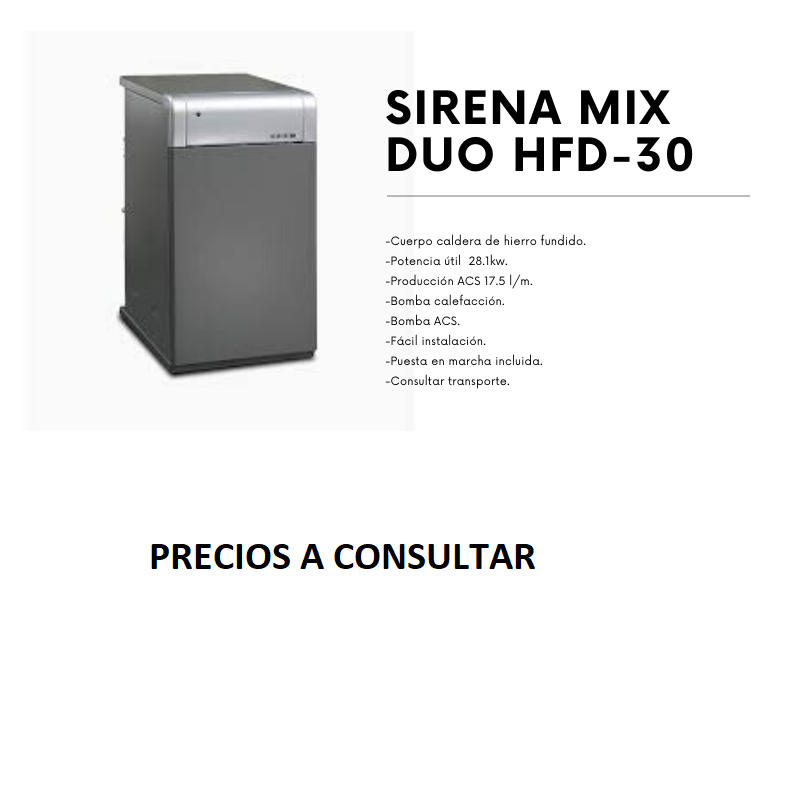 SIRENA MIX 30